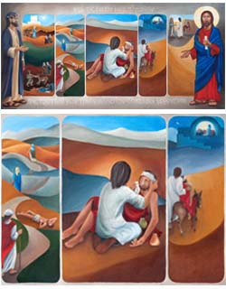 Parable of the Good Samaritan Poster