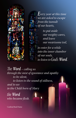 Advent Reflection Poster