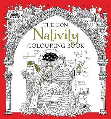 Lion Nativity Colouring Book