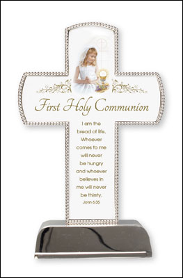 Communion Metal Cross - Girl