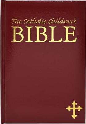 Catholic Children's Bible Burgandy Gift Edition