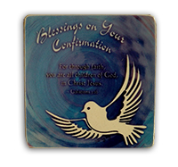 Metal Plaque Blessings on your Confirmation