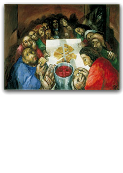 Last Supper / petite picture card - pack of 25