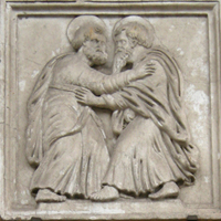 Last embrace of Peter and Paul
