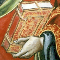 Detail of Paul (watercolor by Veneziano)