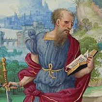 Detail of Paul (miniature)