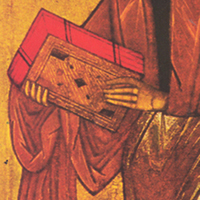 Paul Icon, detail