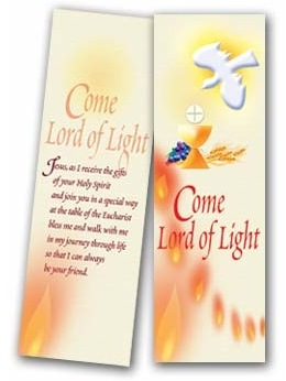 Communion & Confirmation - bookmark 92/CCB2 (Pack of 25)