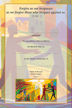 Reconciliation Certificate No. 2 - pack of 25