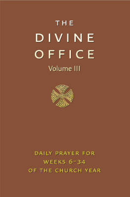 Divine Office Vol III
