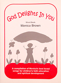 God Delights in You Word Book