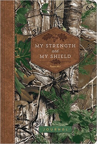 My Strength and My Shield: Realtree(tm) Compact Journal