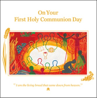 Card 90489 Communion 07 Pack of 5
