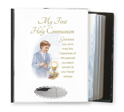 Communion Photo Album - Boy