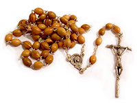 Rosary Olive Wood