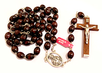 Rosary Brown Wood 176/6