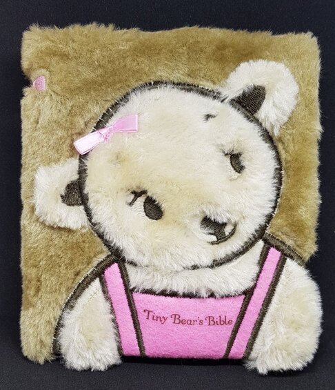 Tiny Bear's Bible Pink
