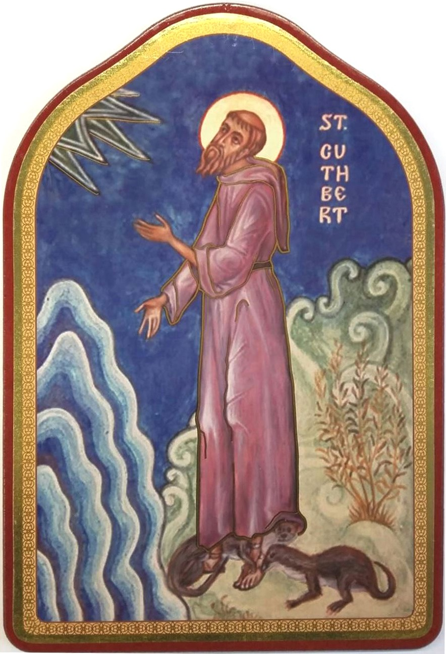 Icon St Cuthbert