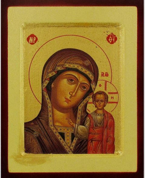 Icon Mother/Child Kazan