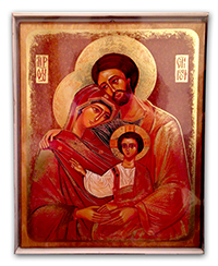 Icon Holy Family Large VE/SF