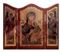 Icon Triptych Mother of Perpetual Succ TP1/PS