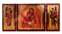 Diptych Holy Family mounted TP2/SF