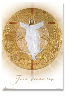 Alpha and Omega  -  large poster