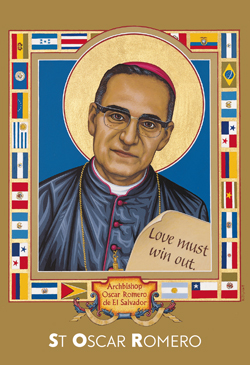 Card 90407 Prayer Oscar Romero Pk.20