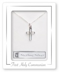 Cross  First Communion Sterling Silver