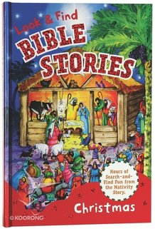 Look & Find Bible Stories: Christmas