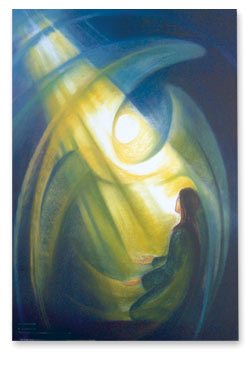 Annunciation - New Life poster