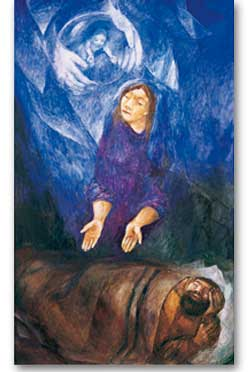 Annunciation to Joseph - 5 Meditation Cards