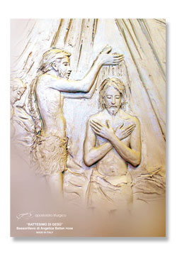Baptism of Jesus  -  large poster