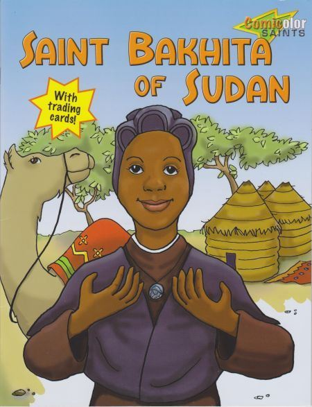 Saint Bakhita of Sudan Colouring Book