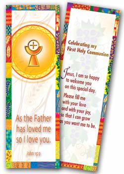 Communion - bookmark FHCB1 - pack of 25