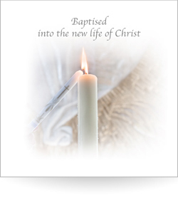 Baptised into the new life of Christ (Pack of 5)