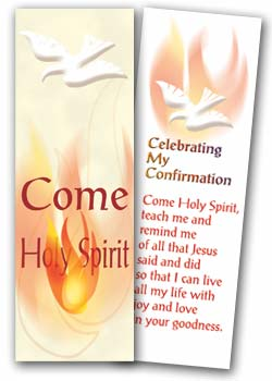 Confirmation- bookmark CNFB2 - pack of 25