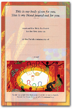 Certificate 92/FHC1 Communion Pack 25