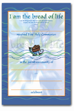 Certificate 92/FHC5 Communion Pack of 25