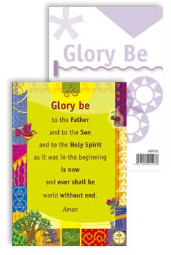 Glory Be To the Father - PrayerPosters cards (Pack of 25)