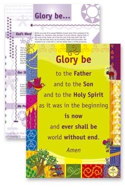 Glory Be To the Father - PrayerPosters