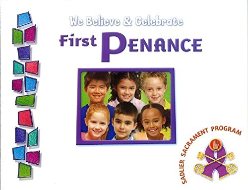 We Believe & Celebrate First Penance Pupils