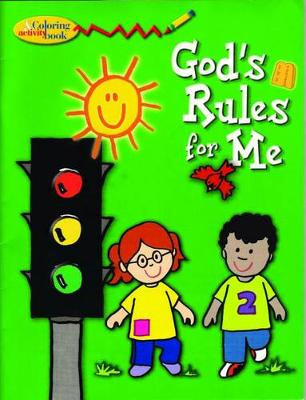 God's Rules for Me - Colouring book