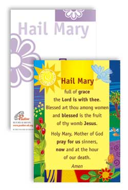 Hail Mary - PrayerPosters cards (Pack of 25)