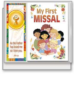 My First Missal and Bookmark - Boxed Gift Set