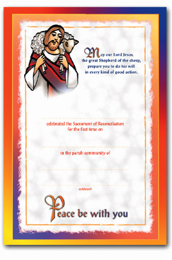Reconciliation - Certificate No.3 - pack of 25