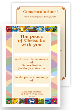 Reconciliation - Certificate No.6 - pack of 25