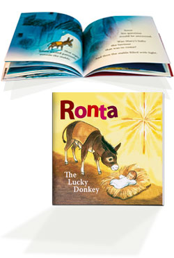 Ronta the Lucky Donkey - book