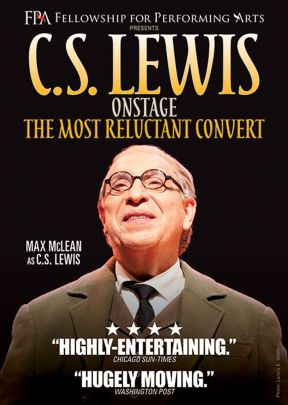 DVD C S Lewis Onstage The Most Reluctant Convert