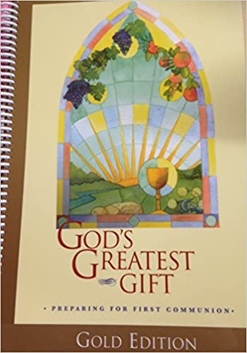 God's Greatest Gift Child Workbook Spiral